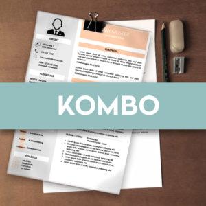 Kombo-Package (CV & Bewerbungsschreiben)